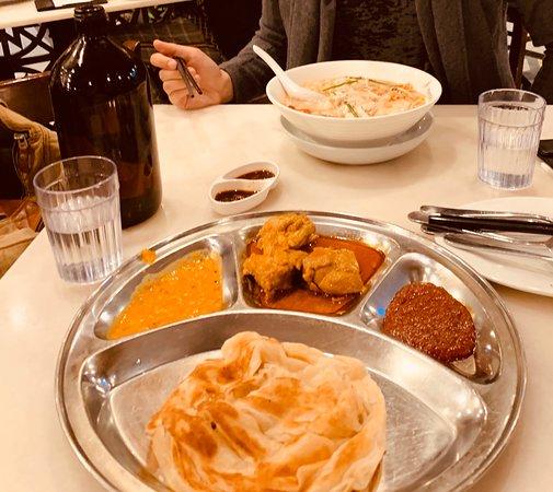 Late Malaysian supper in Parramatta