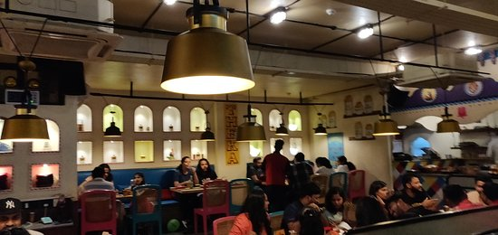 Dhaba Estd 1986: The Ambience