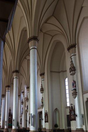 Detalhe das colunas.