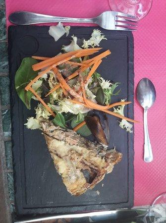 salade tarte saumon poireaux