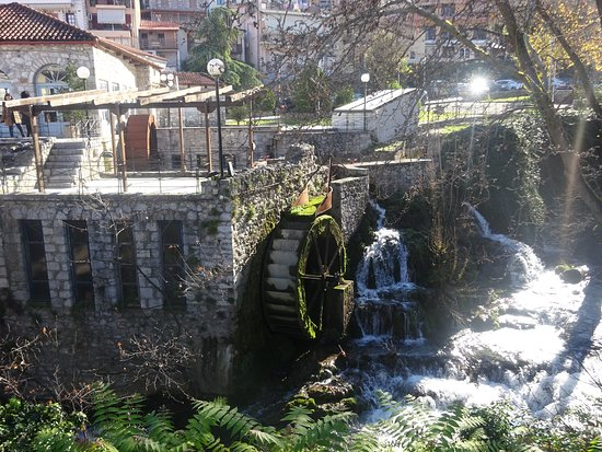 Springs of Krya and Herkyna river - Livadia, Greece