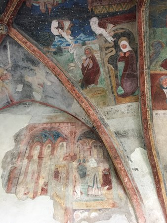 Just a small part of the frescoed ceiling.