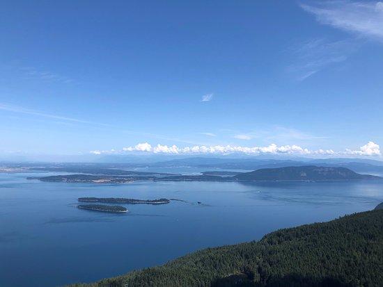 Etat de Washington : Great views at the top of Mount Constitution.