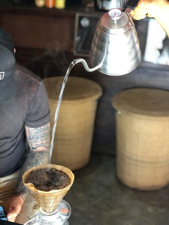 pour over coffee!