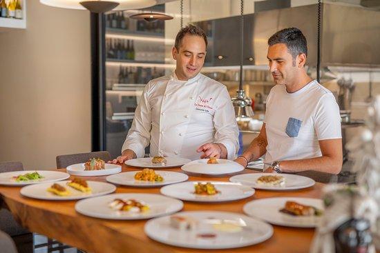 Chef Giovanni Lullo & Patron Toti Fiduccia