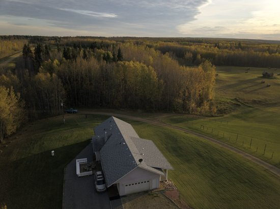 FOR SALE - AMAZING SPOT 10 km north of Evansburg  Between Edson & Edmonton, 10 km North of Yellow Head Highway. On Pembina River, with Creek, Trails, Look Out Point, Across the river from www.RiverWoodRanc h.ca - Horse Ranch  ACREAGE $485,000 4 BEDROOM HOUSE TWO CAR GARAGE 3 BATHROOMS 2 LARGE DECKS ON 10 ACRE LOT  OPTIONAL LAND - $2,200 per acre 120 ACRES OF LAND ON CREEK & RIVER  GrantaSheridan@Gmail.com