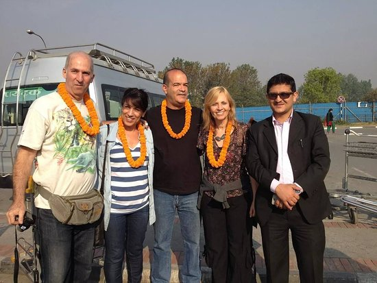 travelers from Israel arrive in Kathmandu
