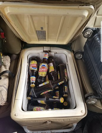 Drinks is what we provide during your safari