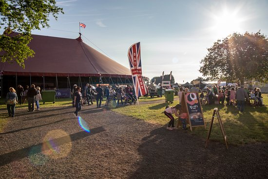 Shepton Mallet, UK: A glorious evening at the Royal Bath & West Show 2019