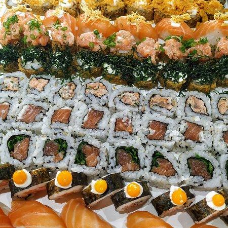 Comida japonesa todos os dias. 😋🍣🍣