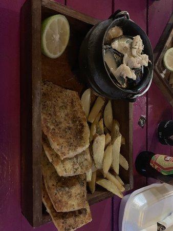 The Drunken Clam: Food