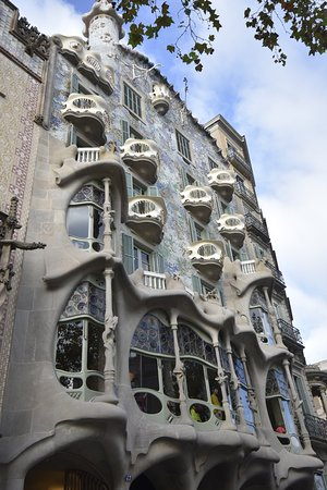 Complete Gaudí Tour: Casa Batlló, Park Guell & Sagrada Família with Tower Climb Φωτογραφία