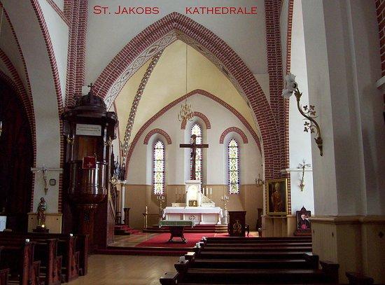 Innenraum der St. Jakobs-Kathedrale in Riga