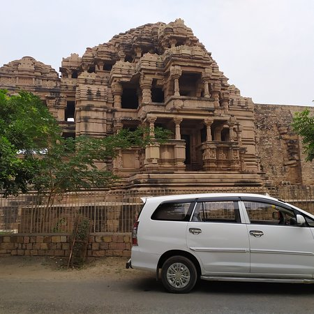 Gwalior District, India: SAAS Bahu temple at Gwalior Fort.