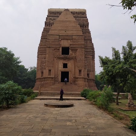 Gwalior District, India: Temple of Teli, which is built by British major, Mr Keith in 1881.