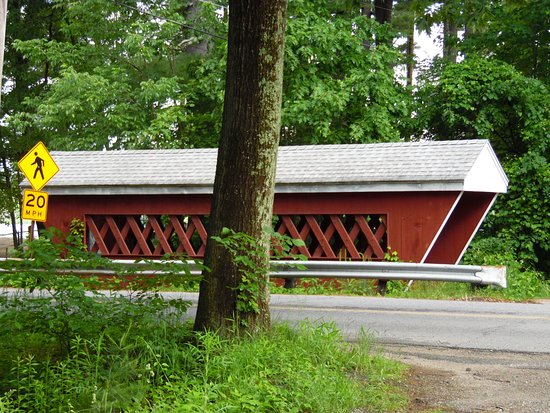 ‪Nissitissit Covered Bridge‬