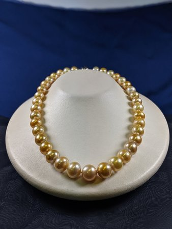 South Sea Golden Pearl Necklace