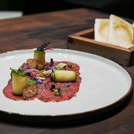 Carpaccio | Zucchini | Rucola ____________________  Carpaccio | Courgette | Rocket salad