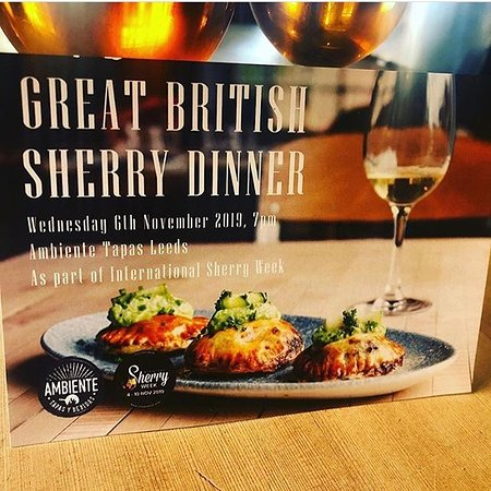 Great British Sherry Dinner