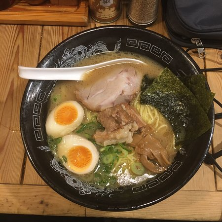 Amazing ramen how you expect it to be!
