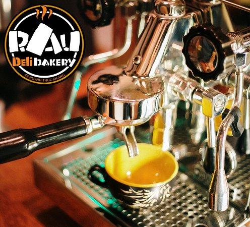 Coffee in Mui Ne. espresso. americano. cappuccino. latte. black tea. green tea, cakes. cupcakes. cakes. tiramisu. eclairs. milkshakes and necks fruit juices in Vietnam Muine @Rau_Bakery