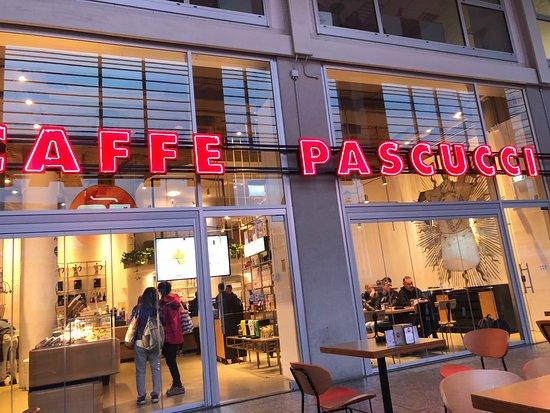 Caffe Pascucci Milano Milan San Babila Restaurant