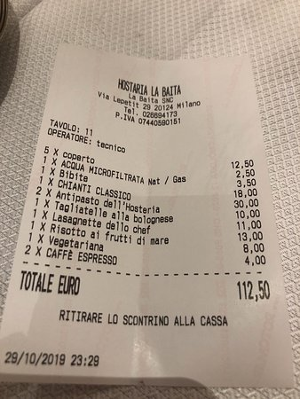 Typisch italienische Küche - sehr gut!