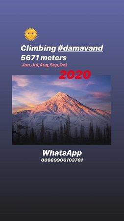 Damavand, איראן: climbing Damavand 5671 meters Iran 5 Days WhatsApp: 00989906103701