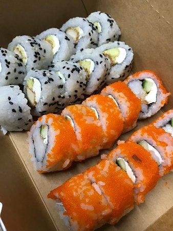 Mejor Sushi en Santa Cruz!