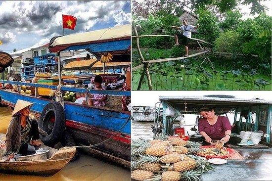 Cai be floating market - Tan phong ...