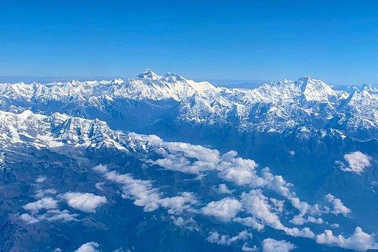Panorâmica do Monte Everest de 9...