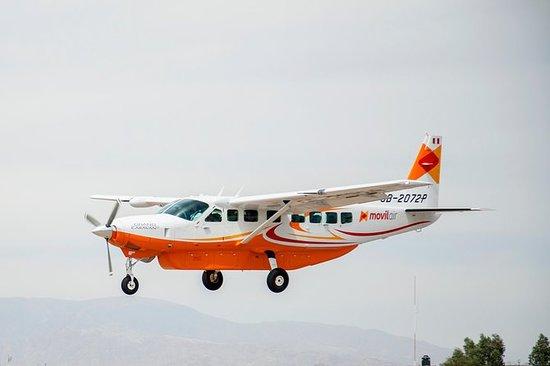Fly over Nazca-linjene fra Ica (1 t...