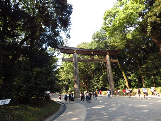 ‪Meiji Shrine Imperial Garden‬