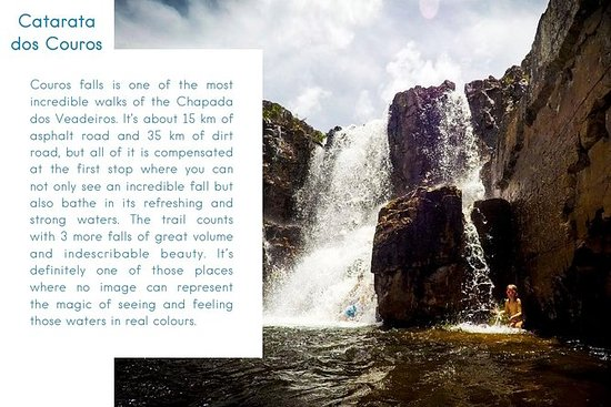 CAR + GUIDE: Couros Waterfall DAY...