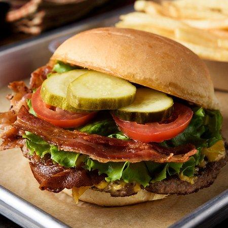 30A Burger: 30A Bacon