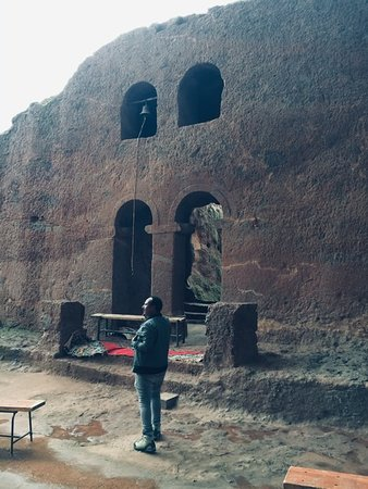 Visiting churches of lalibela Φωτογραφία