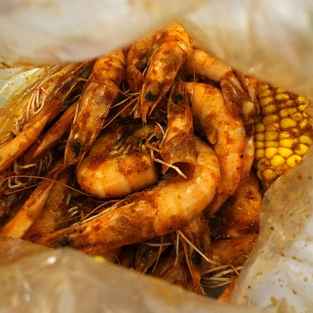 Succulent, perfectly cooked shrimp