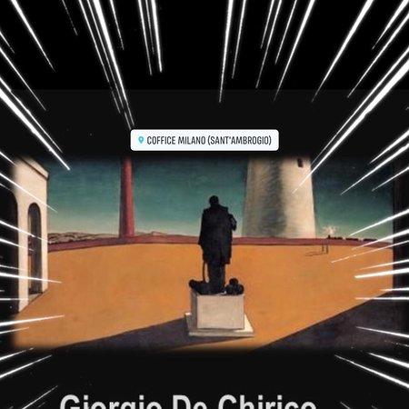 Aperitivo con l'arte di De Chirico