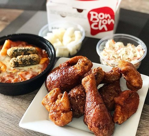 Korean Fried Chicken and Tteokbokki