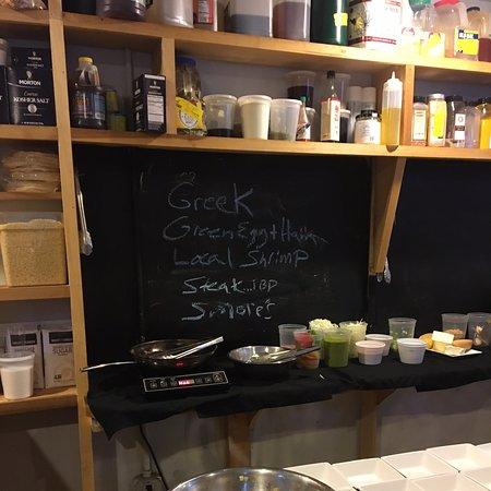 Intimate, tasting kitchen