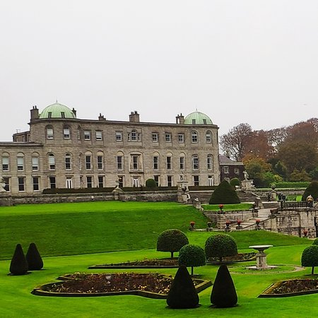 Powerscourt House: View from the gardens