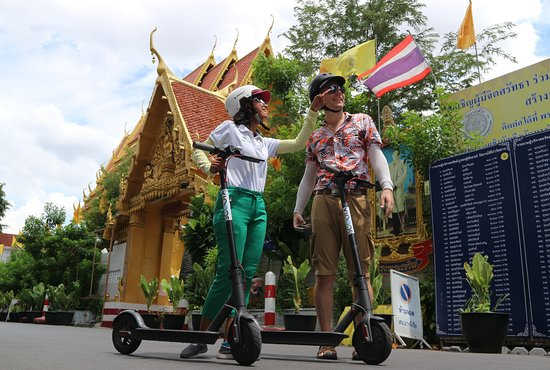 Bangkok E-Scooter Tours