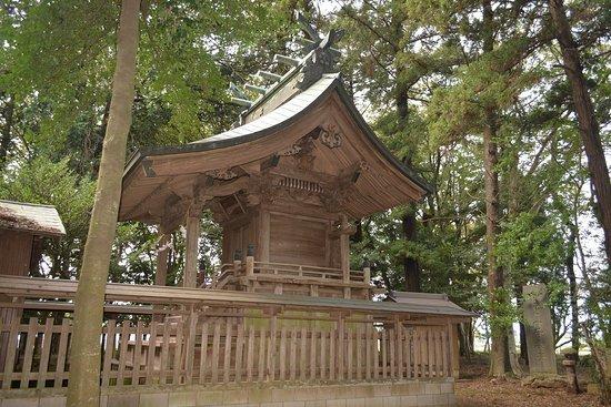 Yachiyo-machi, Japan: 本殿を横から