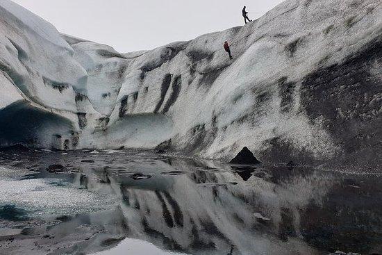Isklättringstur på Vatnajökull ...