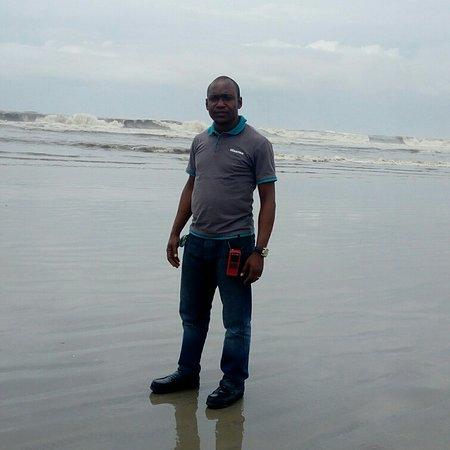 Bonny, Nigeria: Too focused!