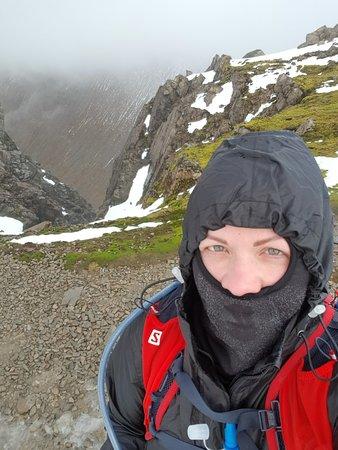 Paseo guiado en grupo por Ben Nevis: The gully...