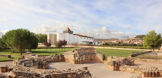 Navarrete, İspanya: Bodegas Corral - vista desde San Juan de Acre