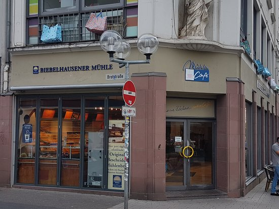 Biebelhausener Muhle: A pleasant place for a coffee and some cake.