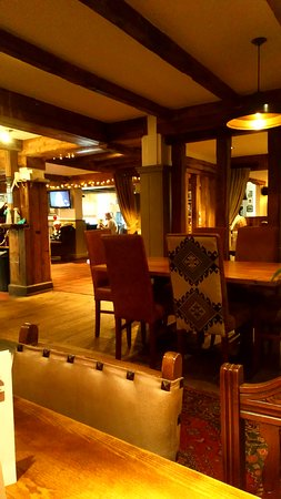 Spetchley, UK: interior