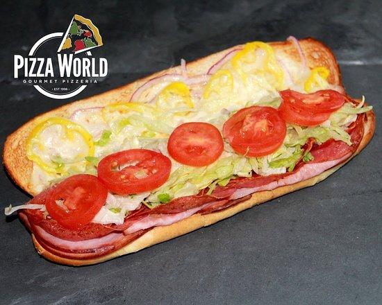 Hot Italian Sub...satisfying
